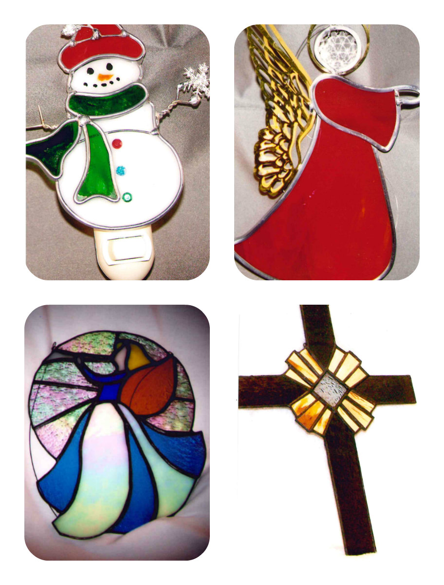 Glass from the Avenue  Teresa Howard   teresa@glassfromtheavenue.com   Teresa makes handcrafted stained (lead) glass products and fused glass products. Her art ranges from small items such as nightlights, picture frames, sun catchers to large stained glass windows and doors. Her Fused glass products include jewelry, platters and flowers.