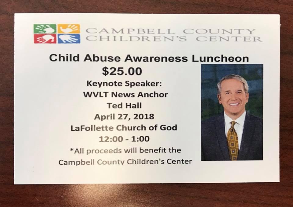LaFollette Church of God  423-562-4190