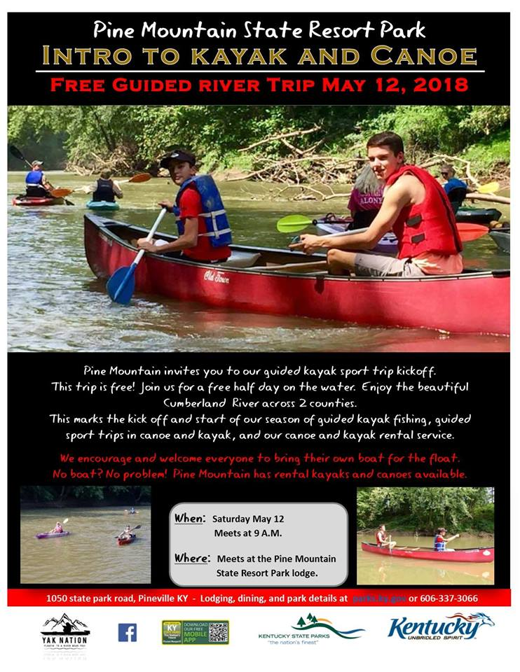 Join us for a float down the Cumberland River! Check out our flyer or message for more details. No boat? No problem! We now have rental kayaks and canoes available.