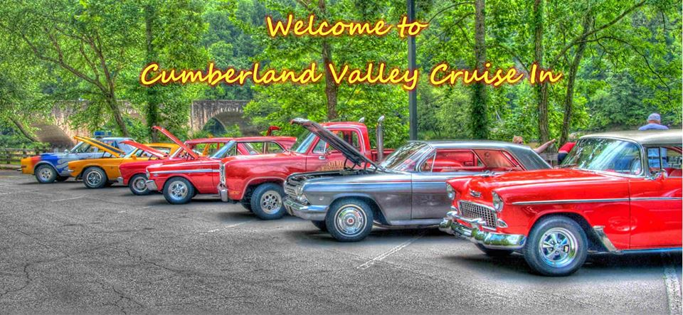 "Its once again time to bring out the classic cars and enjoy the Cumberland Valley Cruise-In at Cumberland Falls State Park! Held on May 12, 2018 from 10am-3pm, this is a free, family friendly event that includes music, prizes, activities and hundreds of beautiful classic and antique cars. Put your car in the show or come out and participate- either way you will enjoy the beauty of the Falls! Call Cumberland Falls State Park for more info at 606-528-4121   Please Pass along and share with your friends! ***Free Event***  MAY 12TH 2018 Everyone is Invited!  All Cars, Motorcycles, Tractors or any other show car is invited to "" Cumberland Valley Cruise In to Cumberland Falls State Resort Park Car Show"" This is a fun event with over a mile of classic cars escorted by a classic Kentucky State Police Car to Cumberland Falls for the car show. Show will last from 11am till 3pm with Gary Englands "" Sound Machine"" Fun and Free Event for all! Line up will be at 10:00am at the Corbin Tech Center parking lot behind Applebee's off exit 25 just below the Corbin Arena.!"