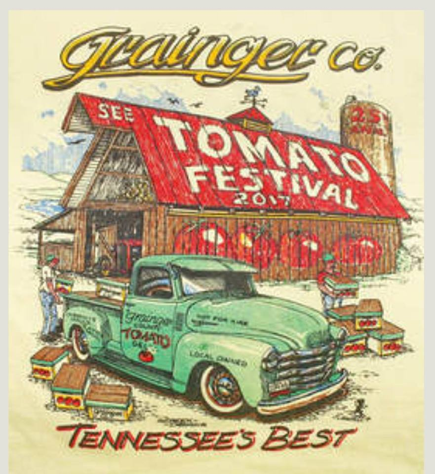 Grainger County Tomato Festival    7480 Rutledge Pike, Rutledge, Tennessee 37861  For more info please check out the sites below.. *Facebook:  https://www.facebook.com/Grainger-County-Tomato-Festival-July-27-28-29-309688227167/  *Official Site:  https://www.graingercountytomatofestival.com/