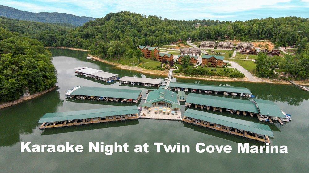 TWIN COVE MARINA , CARYVILLE, TN 40965 United States  OPEN MIC KARAOKE