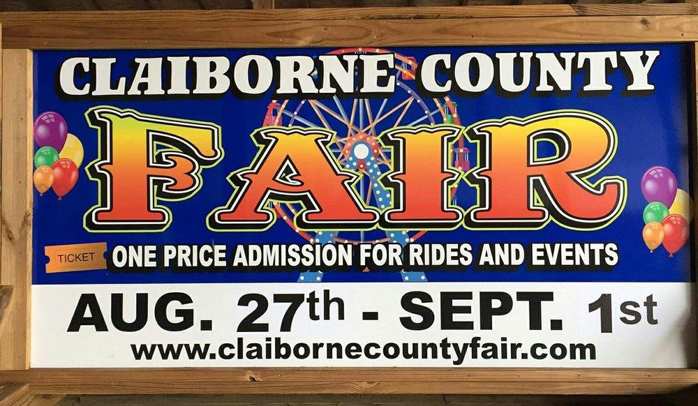 Claiborne County Fair Association   250 Jaycee Ln, Tazewell, Tennessee 37879