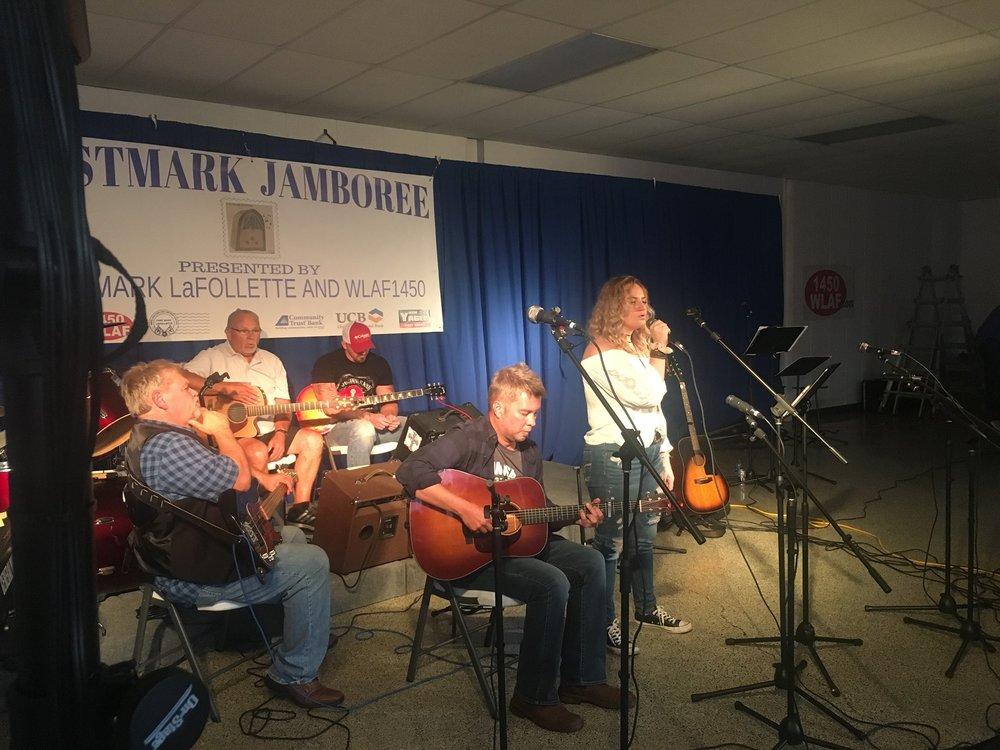 300 W Beech St., La Follette, Tennessee   https://www.facebook.com/postmarkjamboree/