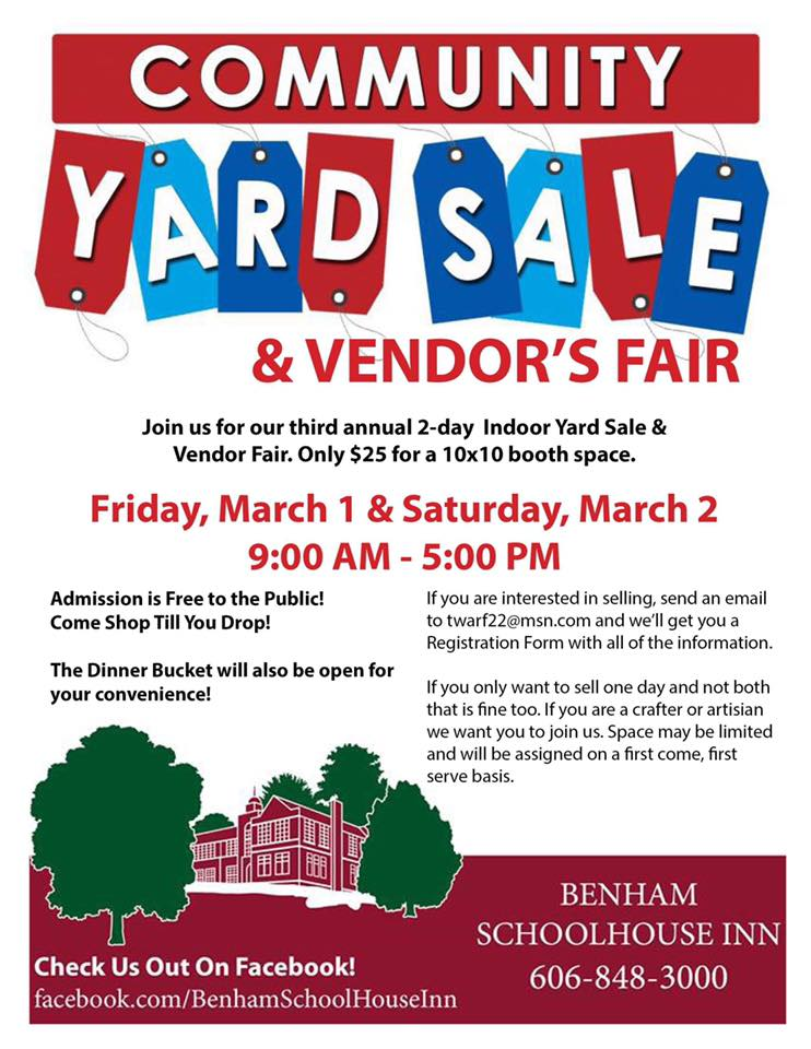 community yard sale benham.jpg