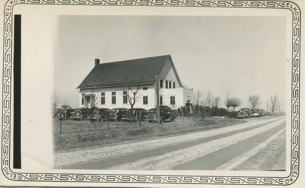 Metamora Mennonite, about 1938