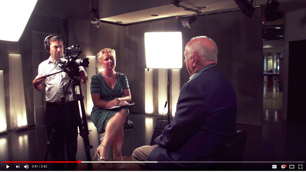 Interviewing JR Shaw, founder of Shaw Communications
