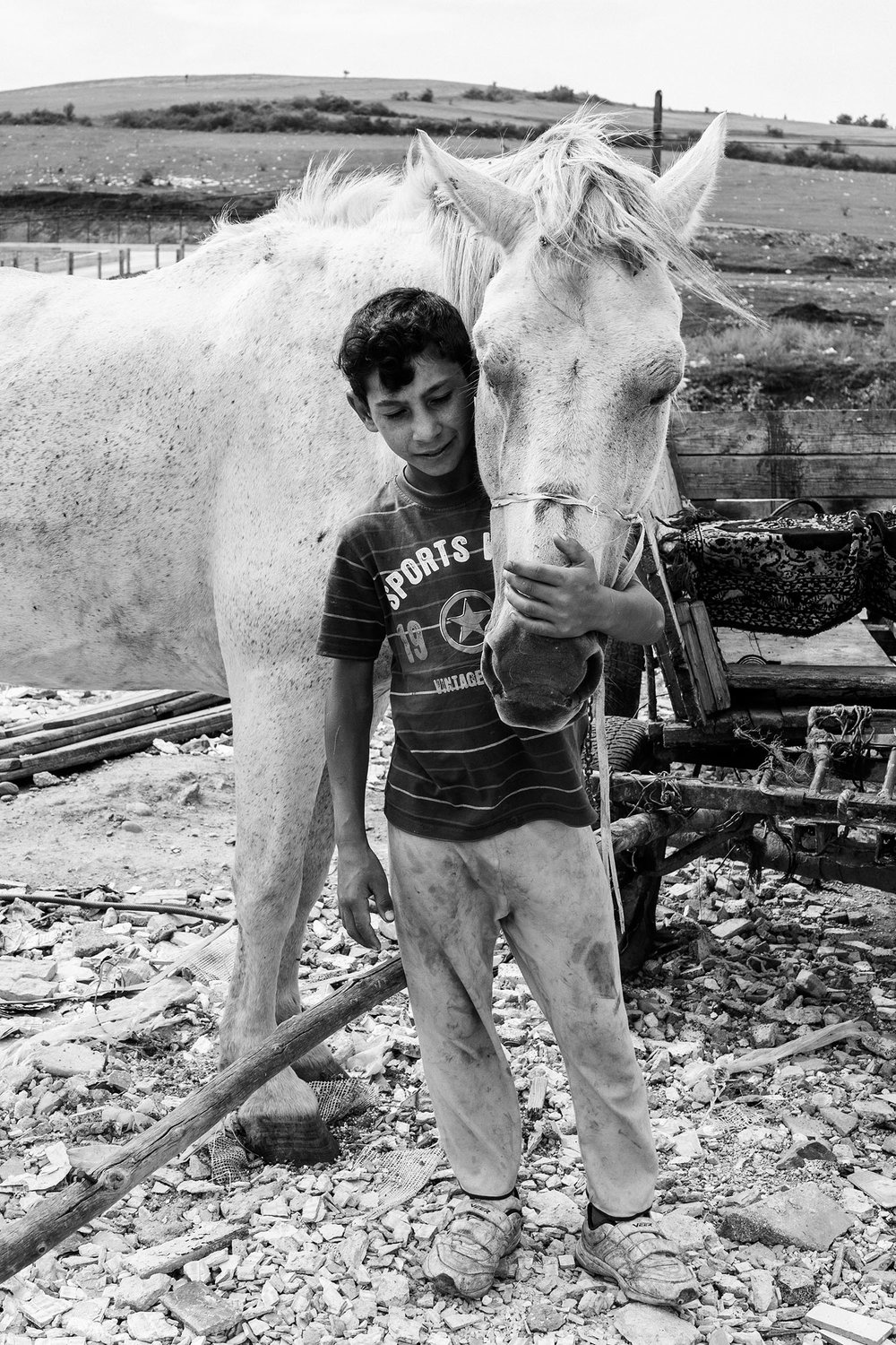 Andrei and horse 2015