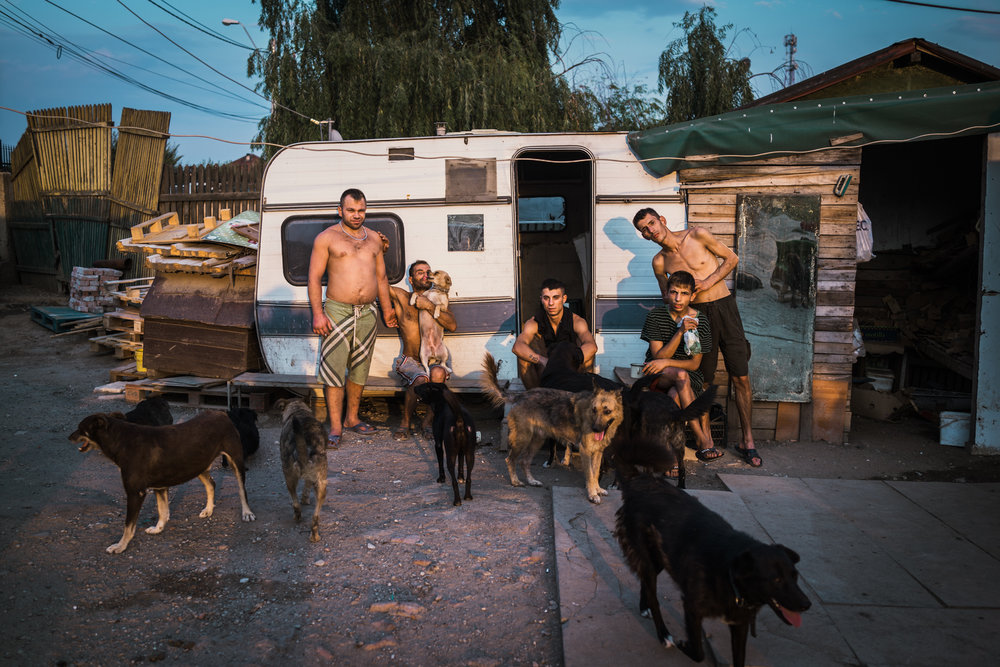 Family series.  Bucharest, 2017