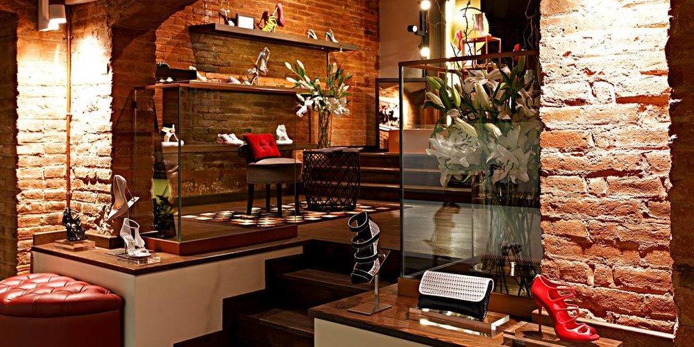 Cherry Heel Luxury Shoe Boutique Barcelona
