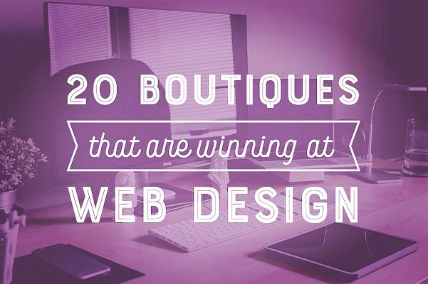 Top 20 boutiques that are winning at Web Design by Creative Market