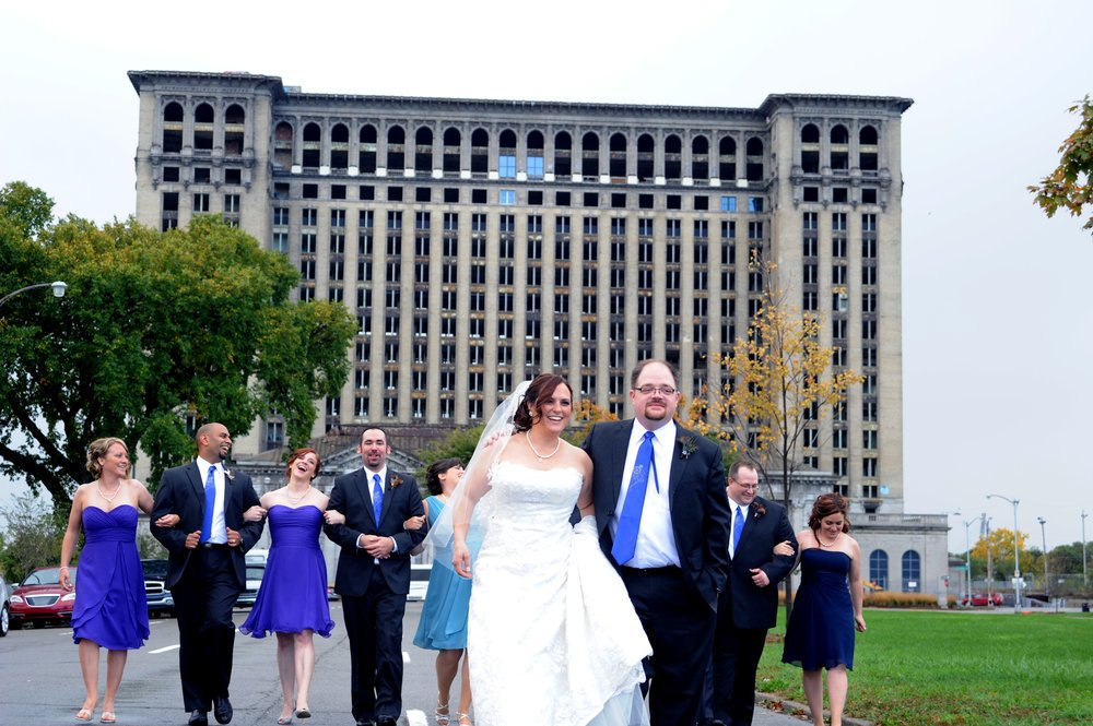 Downtown detroit weddings