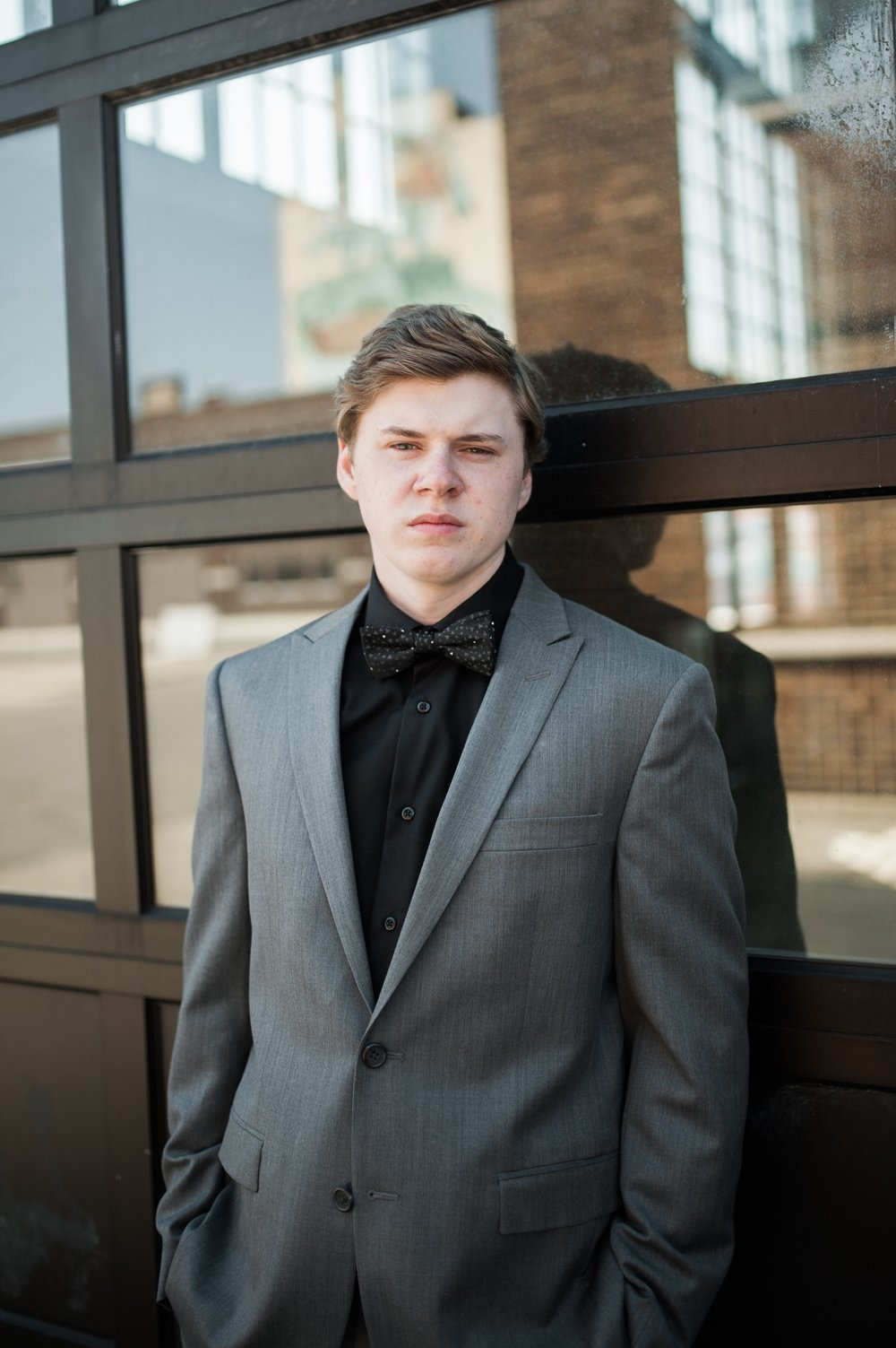 Downtown Detroit Senior Photos