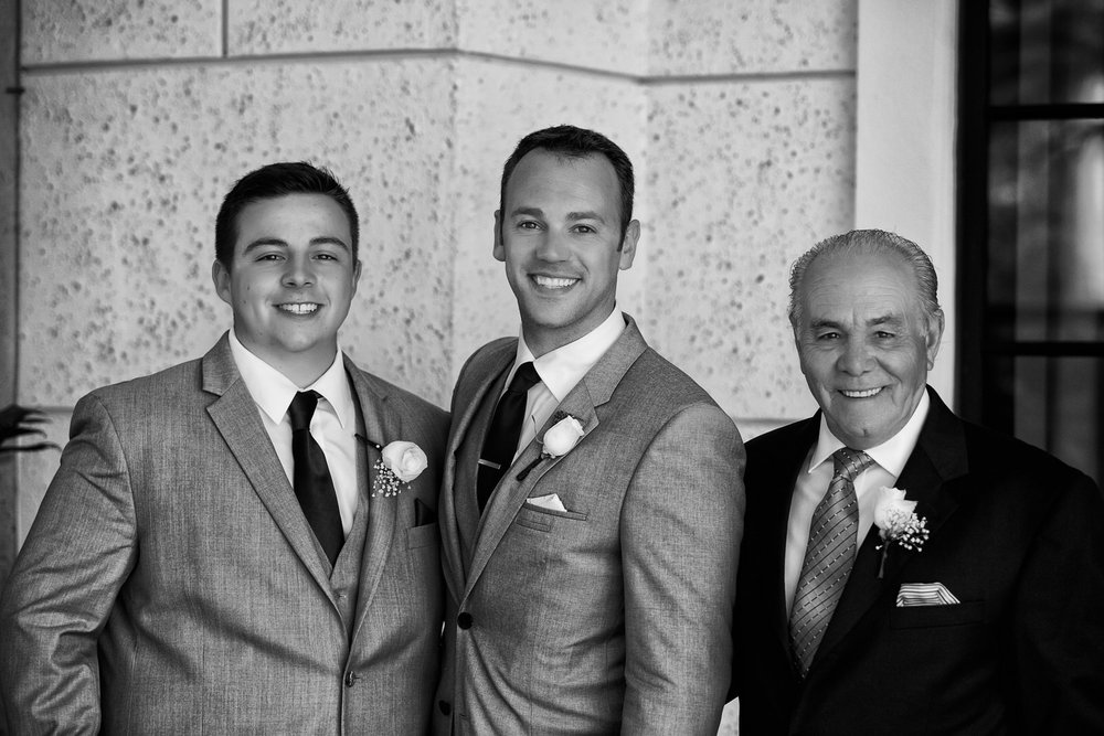 The Groom's Bodyguards