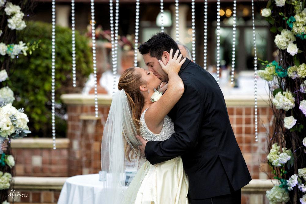A kiss to last a lifetime
