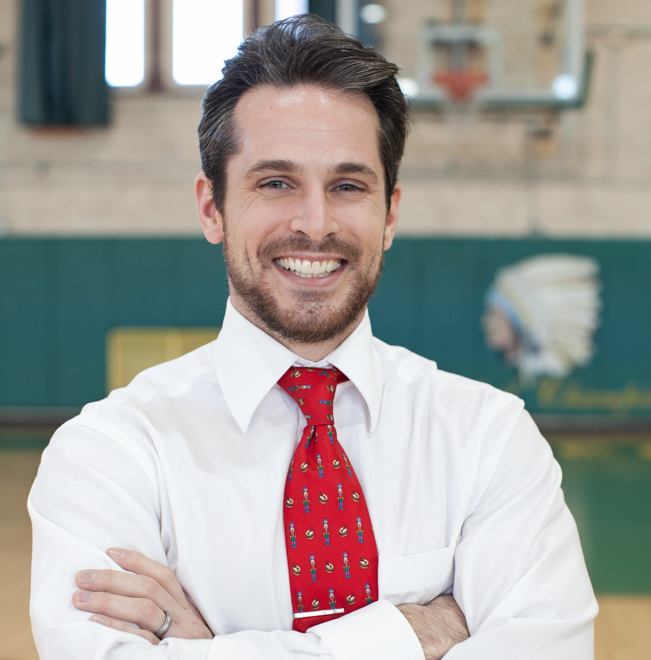 Nick LoGalbo,     Coaching Advisor    Nick LoGalbo is an English teacher and the head boys' basketball coach at his alma mater, Lane Tech High School. He graduated from Benedictine University where he played basketball. LoGalbo teaches his students to live their lives with a giving heart and is enthusiastic about helping them find their passion and helping the world. In doing so, he was honored in 2014 as WGN Teacher of the Month for his investment in student character. LoGalbo has served as coaching mentor for Cade, founder of Sidelined, and is the inspiration behind Sidelined's mission. He also works as an instructor and coordinator for various basketball camps including Duke University Basketball Camp and USA Basketball.