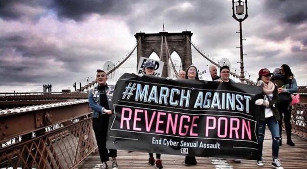The March Against Revenge Porn - Brooklyn (4/1/17) Photo by Edgar Costa
