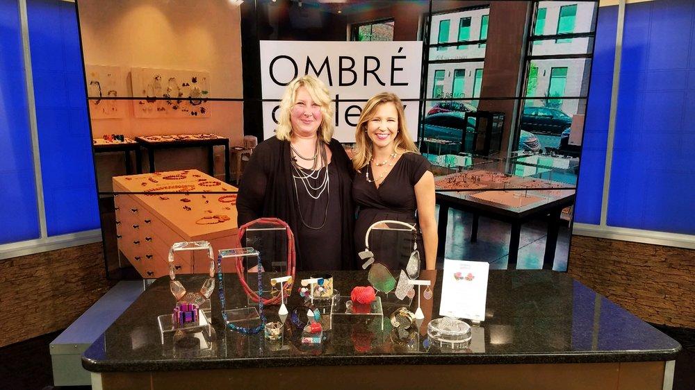 Ombré Gallery on Fox19, September 12, 2018