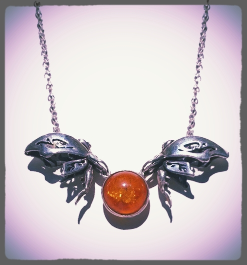 Amber Fairy Necklace