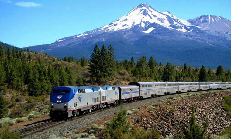 Empire Builder - Glacier National Park