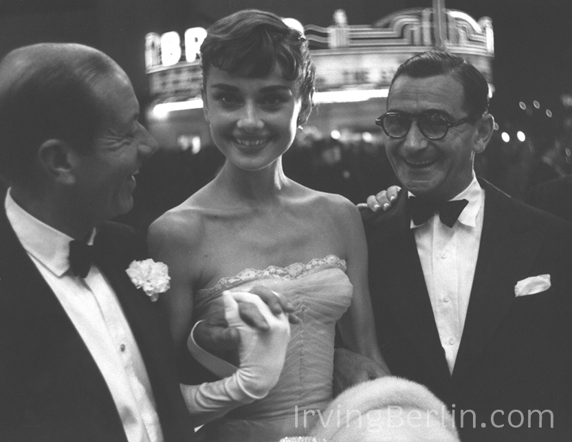 Cole Porter, Audrey Hepburn and Irving Berlin