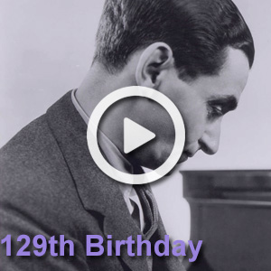 May 11th, 2017 marked Irving Berlin's 129th Birthday! Celebrate his incredible talent with this playlist of covers from the past year.