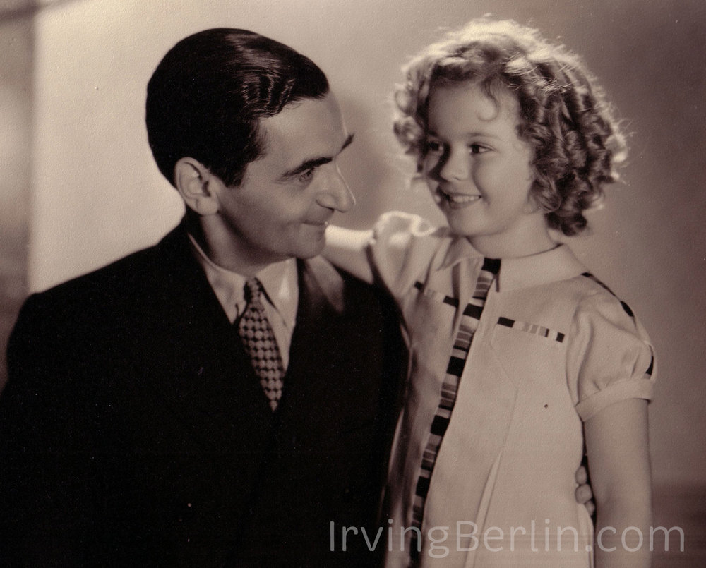 Irving Berlin with Shirley Temple