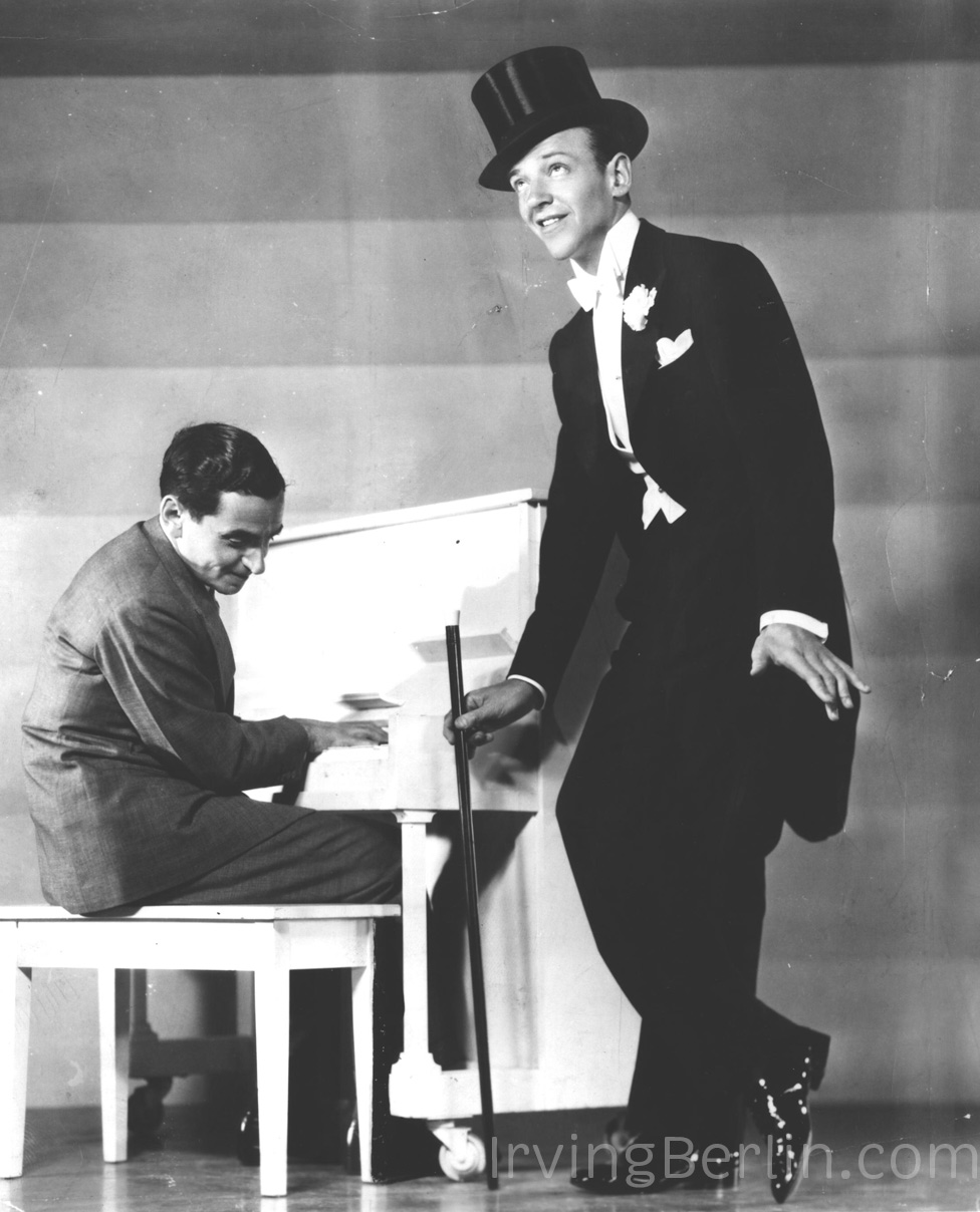 Irving Berlin with Fred Astaire