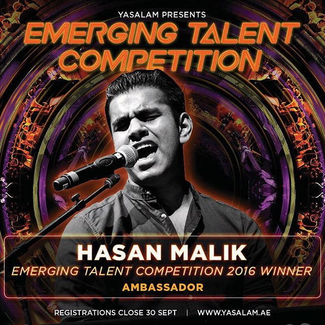 Proud to be an Ambassador for the @yasalamae Emerging Talent Competition! So many memories from 2016, and I can't wait to meet this year's artists! 💪🏽