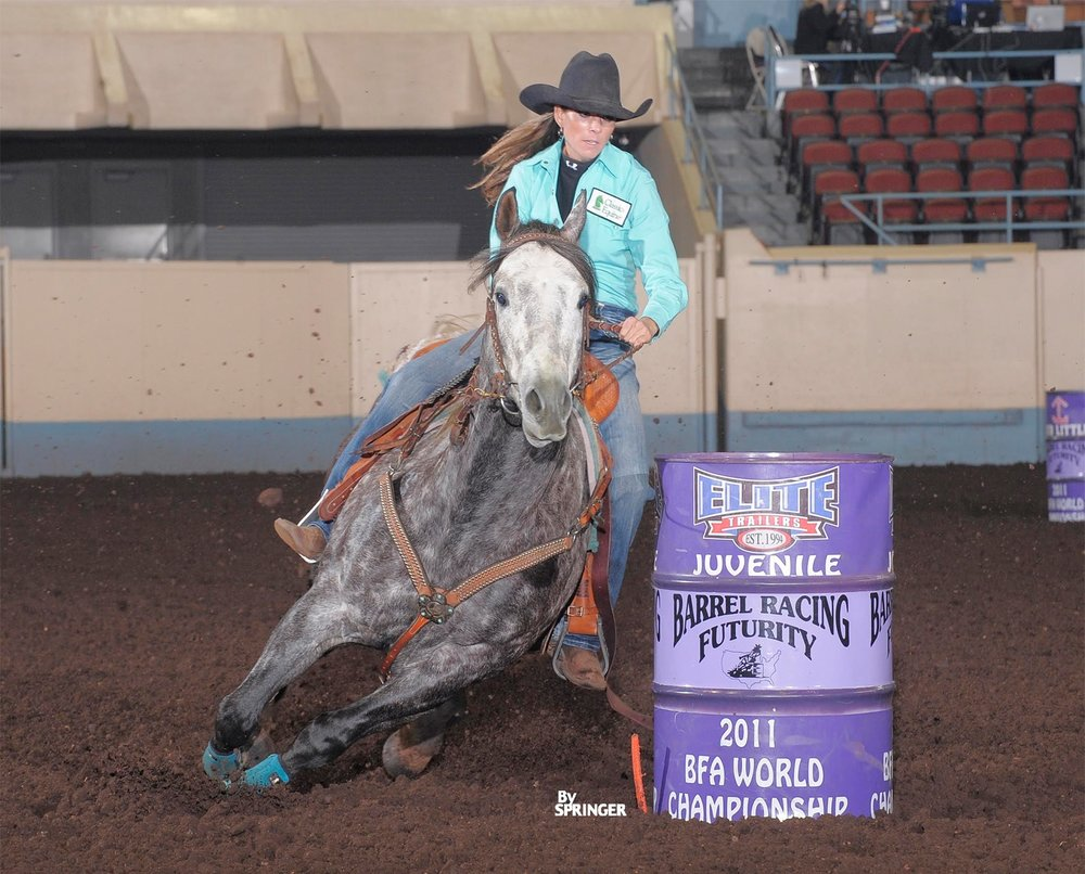 2011  BFA World Championship Second Round Juvenile Champion