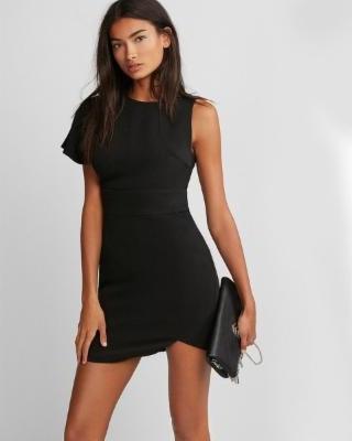 asymmetrical shoulder mini dress.jpg