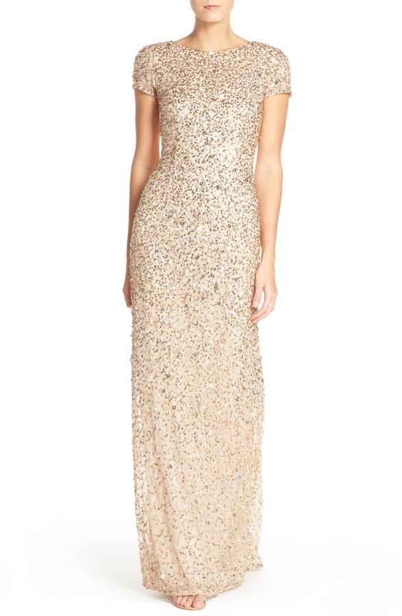 short sleeve sequin mesh gown .jpg