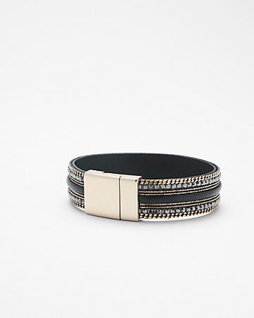 leather and rhinestone turnlock bracelet.jpg