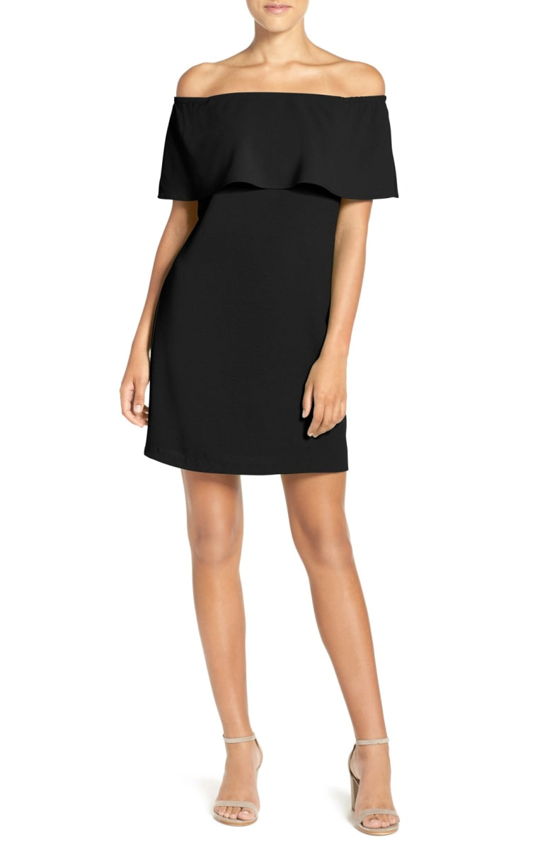 charles henry off the shoulder dress.jpg