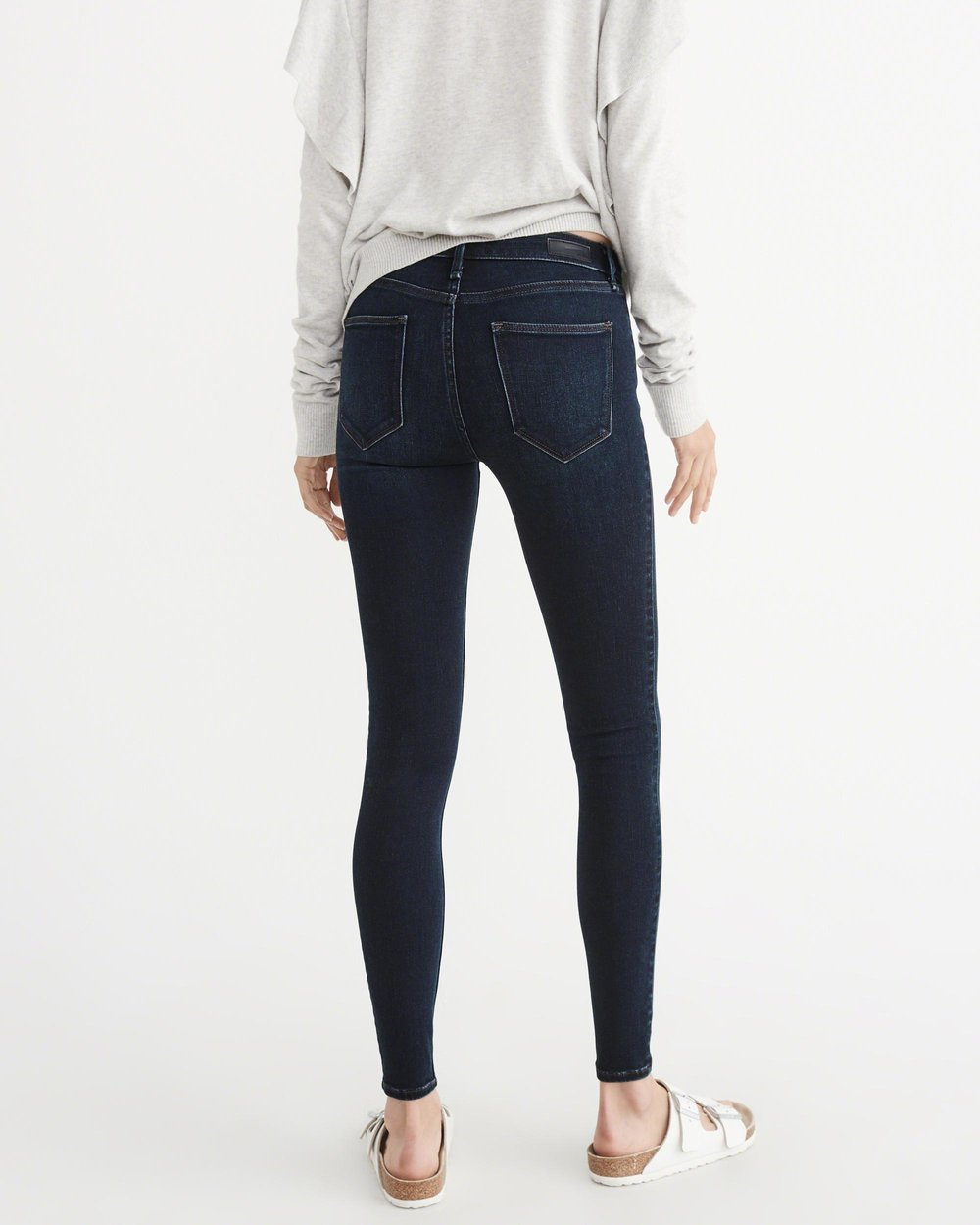Low Rise Jean Leggings - I literally have these in every single color available. They are so comfortable! The white and black ones don't even look like jeans. So much so that I dress them up with heels and a cardigan or blazer and wear them to the office! Total closet staple.