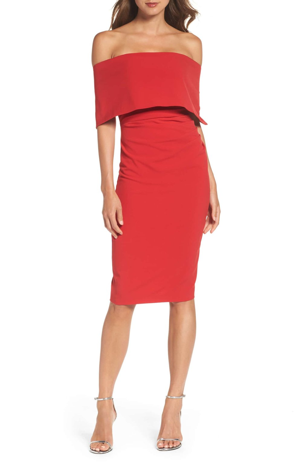 vince camuto midi dress red.jpg
