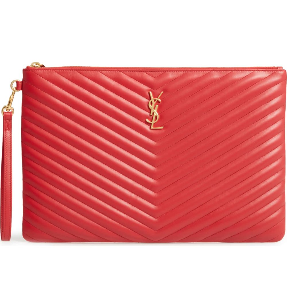ysl red leather pouch.jpg