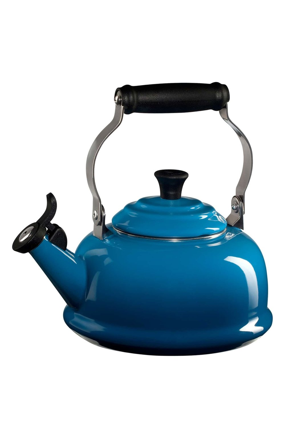 Le Creuset Classic Whistling Tea Kettle (SALE) - Who doesn't get super excited over anything Le Creuset?! This stunning tea kettle is on sale for $100 (20% off) and is available in this lovely marseille blue, caribbean teal, cherry, flame and white.