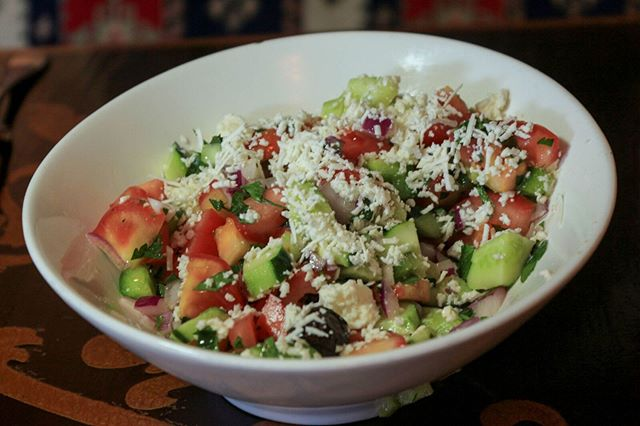 Grab a nice, healthy, refreshing salad for your delight!
