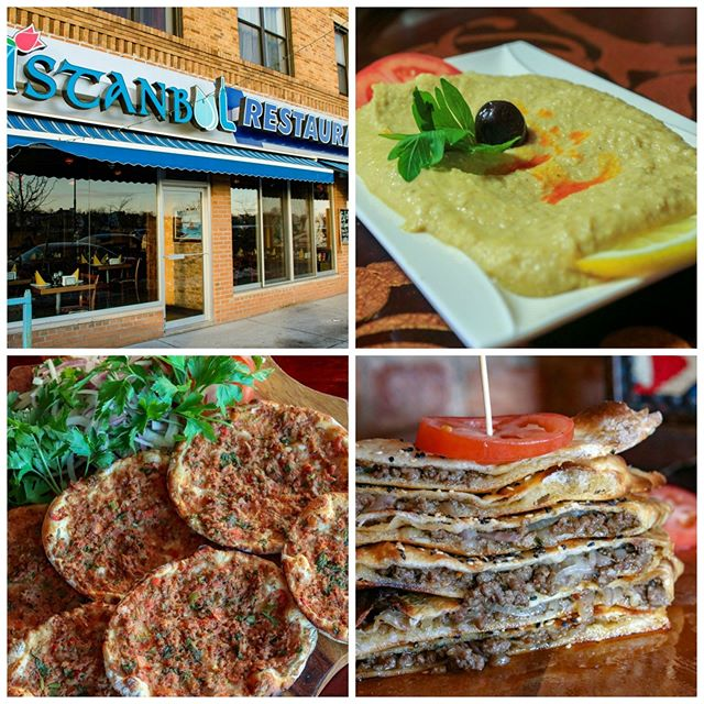 The weather is getting nicer so enjoy a great Mediterranean meal in our outdoor seating area. Try some of our oven specialties such as our Lahmacun Turkish Meat Pie!