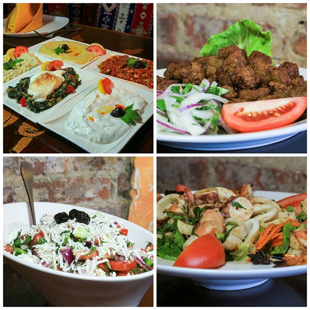 Look at all this great food. Get your friends and family together and enjoy these wonderful dishes!