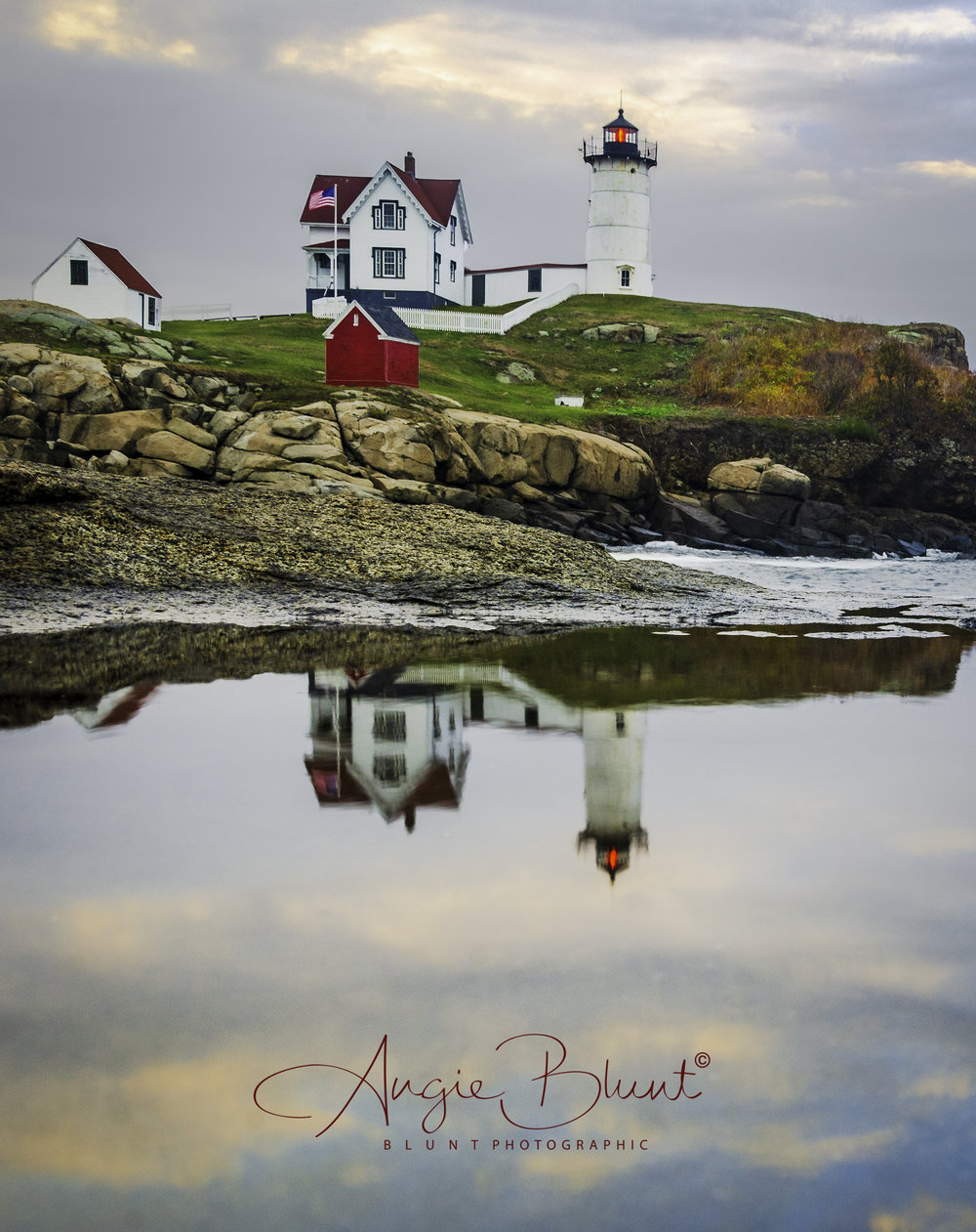 Nubble Light, York, Maine (2016) -  Angie Blunt