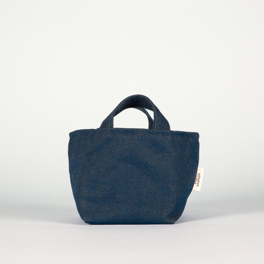 Edition Limitée - Collection Souris / Petit modèle   Dimensions = L24xH13xP14cm  Toile de coton biologique / doublure étanche / confectionné en France