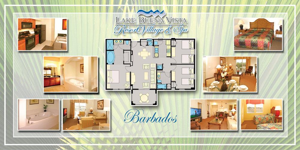 BARBADOS ~ 3 BED / 2 BATH / 1253 SQFT FROM $269,0000