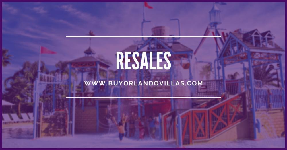 Orlando Resale Properties