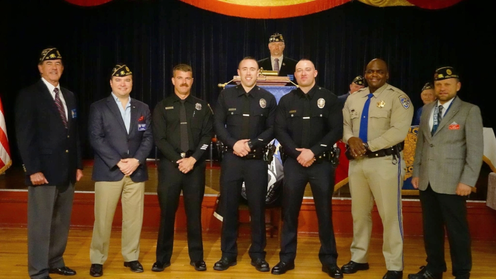 Members of the Los Angeles Police, Fire, and Sheriff's Departments and California Highway Patrol were honored at Post 43's annual Law & Order Night, March 20, 2017. Watch a short  VIDEO RECAP  now! Special thanks to our adjutant, Karl Risinger for another inspiring program!