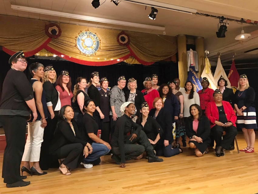 It was an amazing and inspirational night as the 24th District honored area women veterans at Hollywood Post 43 April 24, 2017 with a complimentary dinner and special program featuring Lt. Col. (Ret.) Patricia Jackson-Kelly.
