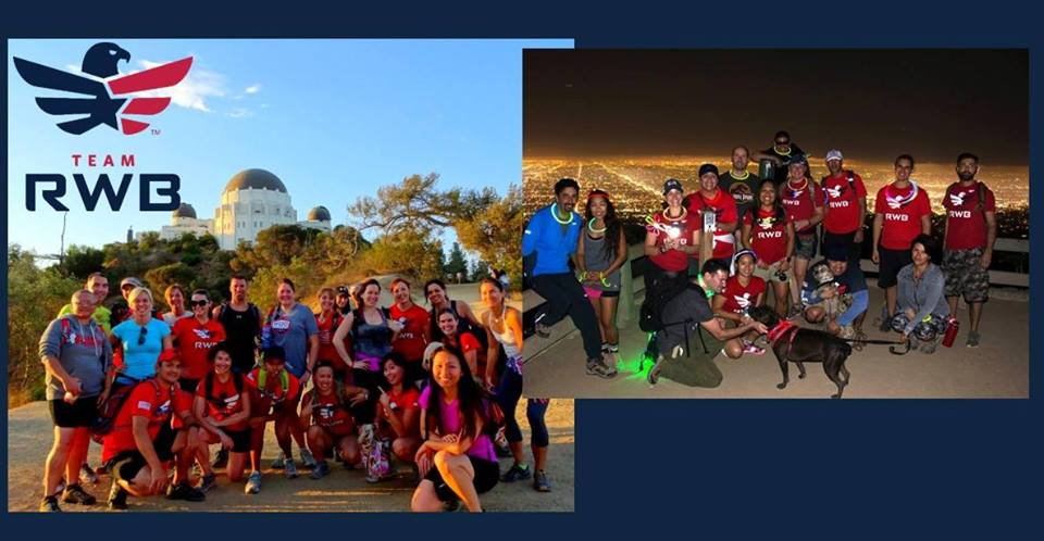 Join Team RWB Los Angeles and hike up to Griffith Observatory for the sunset and come down under the (almost) full moon. Bring a flashlight, and Laura will bring the glow sticks!  DETAILS