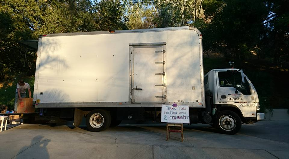 Special thanks to    AVON truck rentals    in Hollywood for their generous donation of the relief truck!