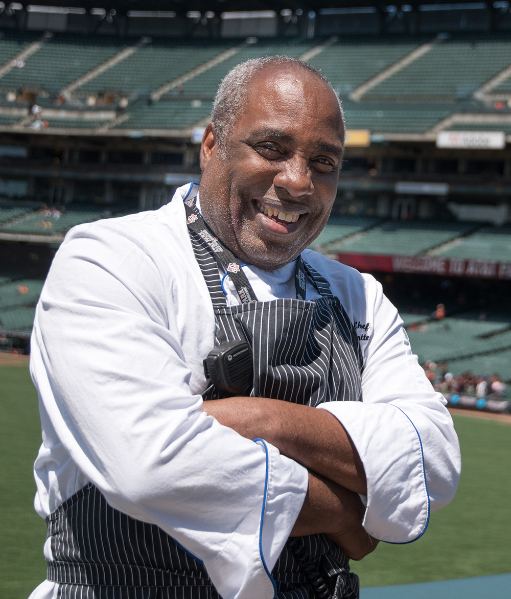 <b>Toussaint Potter</b><br>AT&T Park for<br> Bon Appetit <br>Management Company
